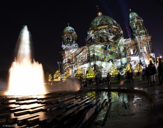 Berliner Dom, Festival of Lights 2013
