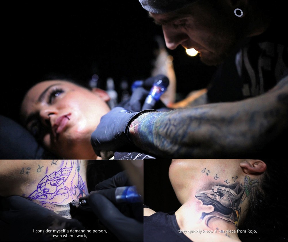 Rojo Tattoo Artist by Wildschnitt